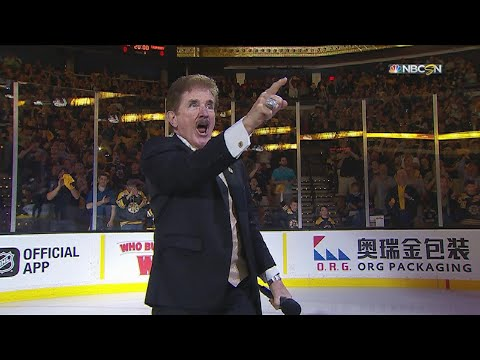 TBL@BOS, Gm3: Rancourt performs the national anthem
