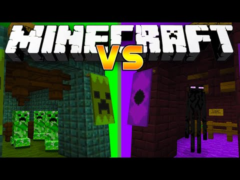 Minecraft 1.8: MONSTER INDUSTRIES! (Buy spawn eggs, weapons and more!) - w/Preston & Lachlan