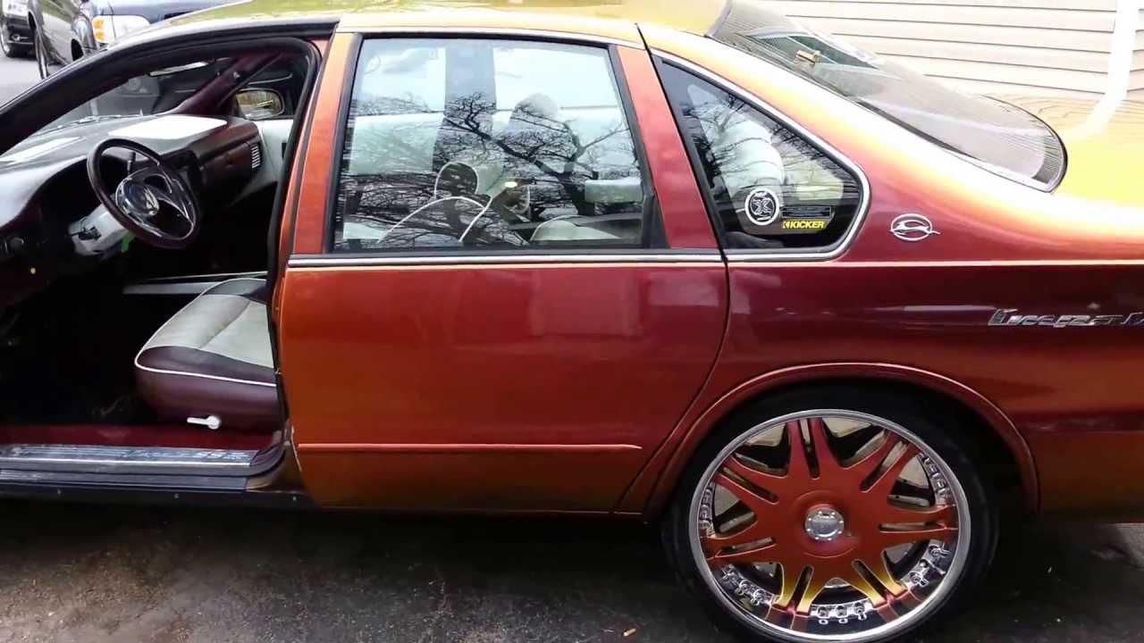 Chevy Ss Interior >> 1995 Chevy Impala SS custom Flip Flop paint and custom ...