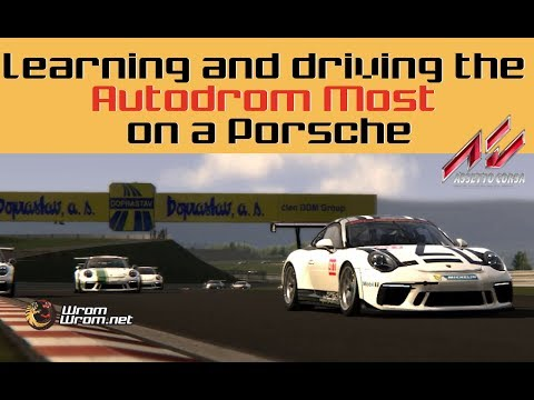 Learning and Driving the Autodrom Most on a Porsche - Mod Review and Free Download