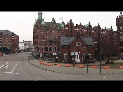 Hamburg, Citytour by Bus, Part2  Germany HD Travel Channel