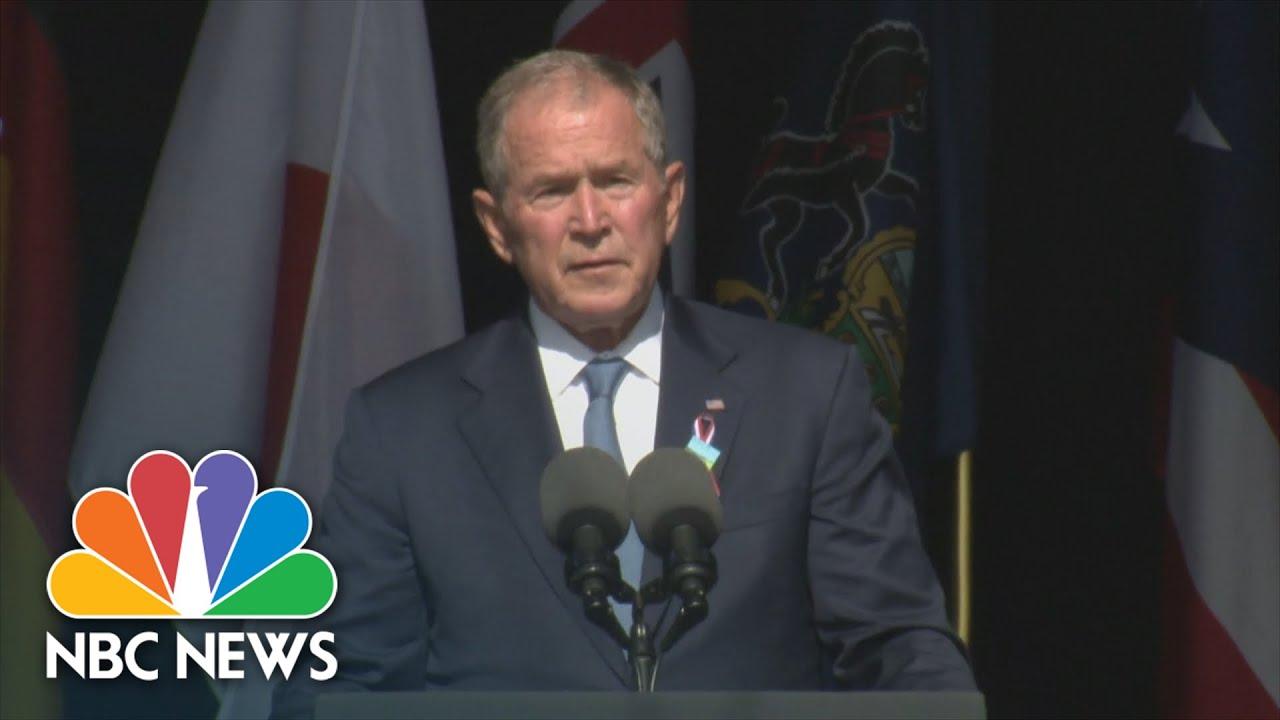 George W. Bush Delivers 9/11 Anniversary Speech in Shanksville