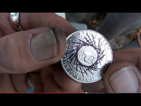 Coin Rings-Finding Dead Center Of Any Size Coin Using Any Size Punch