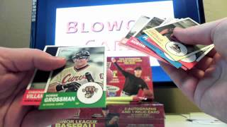 2012 Topps Heritage Minor League Baseball 3 Pack Break