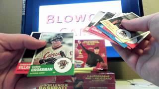 2012 Topps Heritage Minor League Baseball 3 Pack Break