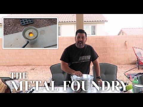 Grant Thompson inspired Backyard Metal Foundry   King of Random inspired Family DIY