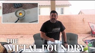 Grant Thompson inspired Backyard Metal Foundry | King of Random inspired Family DIY