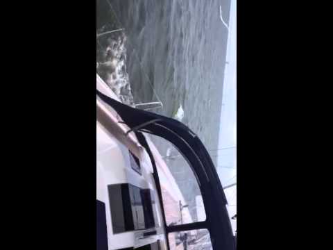 McMichael Yacht Brokers Hanse 575 test sail video   Annapolis October 14