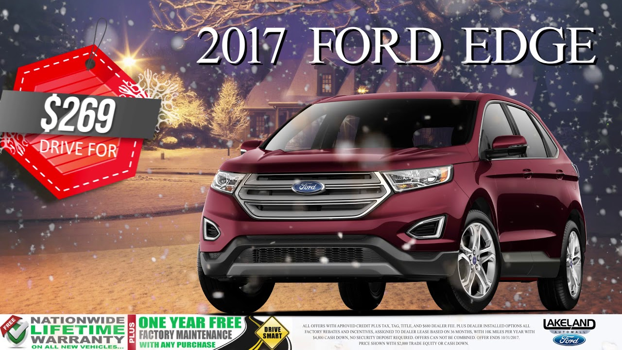 Lakeland Ford Year End Clearance Event