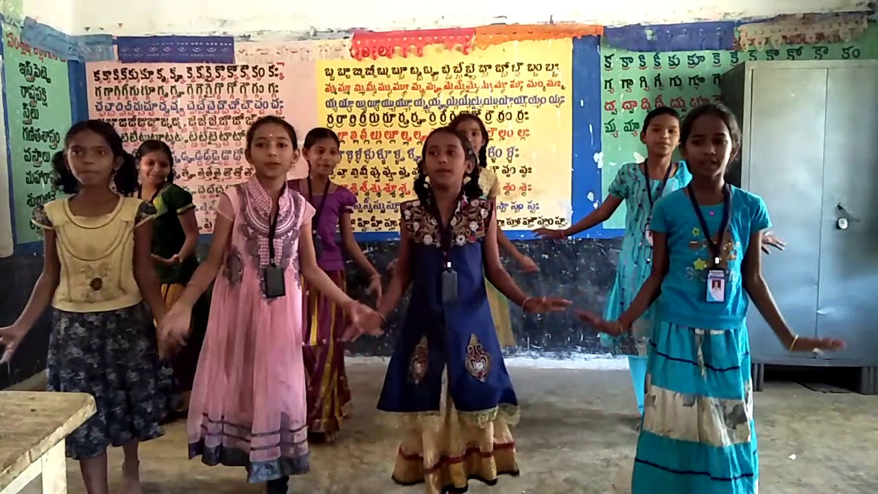 5th Class Wakeup poem recite with action moyo school gollupalem