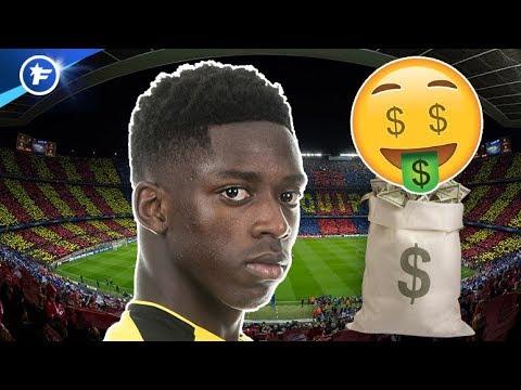 Le prix du transfert de Dembélé au Barça révélé   Revue de presse