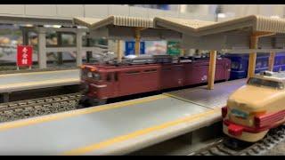 Nゲージ 鉄道模型 TOMIX 日本海モトトレールとしらさぎ(あおさぎ)の離合