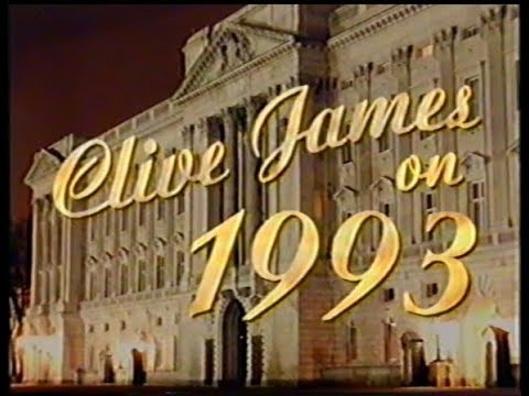 Clive James on 1993 (BBC1 - New Year's Eve)