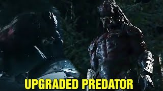 UPGRADED PREDATOR REVEALED - THE PREDATOR MOVIE HYBRID PREDATORS