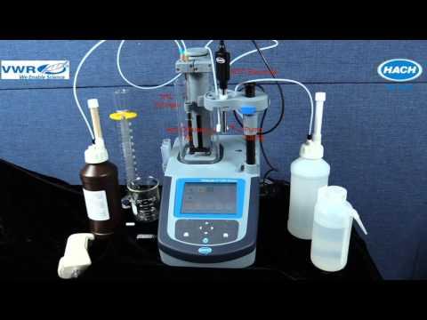 VWR AT1000 Titrator  Chlorine Titration
