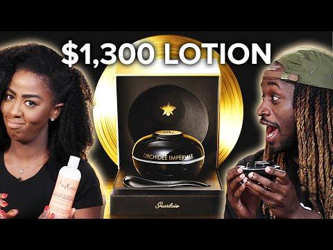 $9 Lotion Vs. $1,300 Lotion