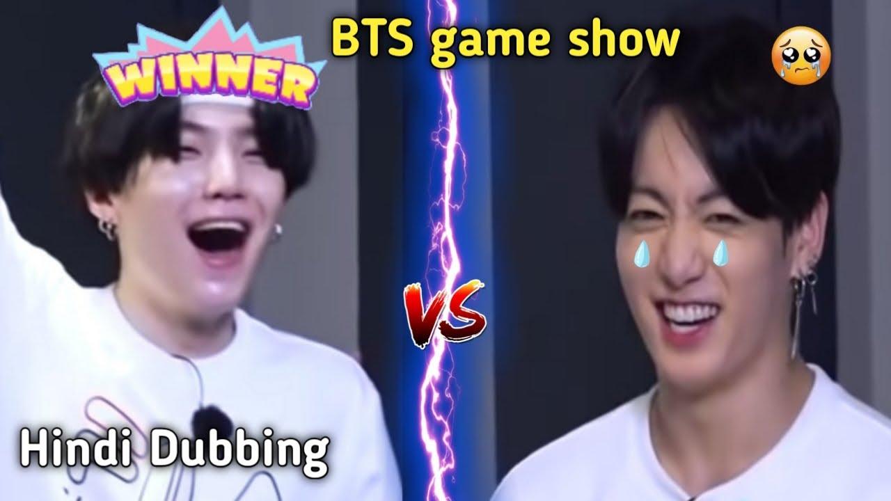 BTS game show // Hindi dubbing? // run bts ep 127 // bts funny drama