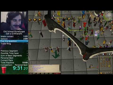 Old School RuneScape - Girlfriend% Speedrun In: 19:36