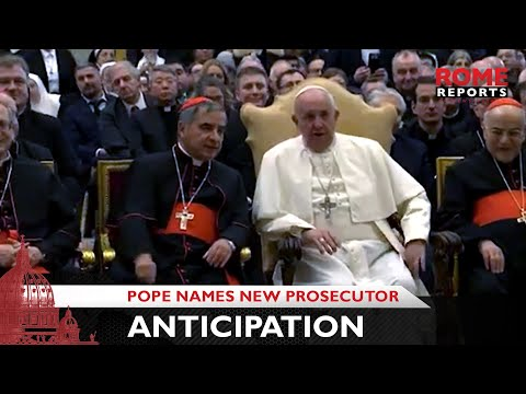 Pope names new prosecutor in anticipation of important trials
