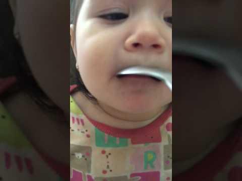 Наш первый зубик 10,5 месяцев
