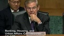 Senator Menendez Asks Questions at Hearing on Terrorism Risk Insurance