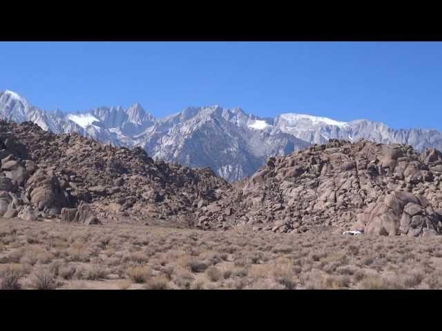 Video Of Alabama Hills,Lone Pine Ca