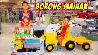 Praya Borong Mainan Mobil Mobilan Truck Besar Di Mall