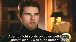 Tom Cruise Scientology Video (deutsche Untertitel)
