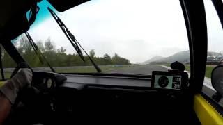 Žlutka 2016 autodrom Most 3. jízda (spolujezdec Karel)