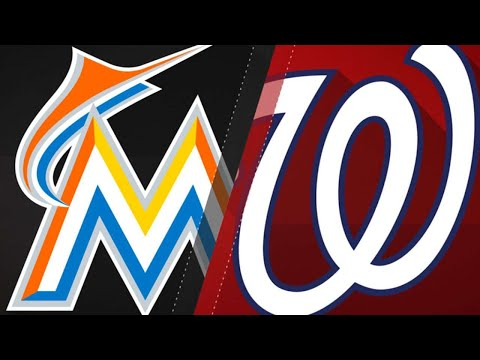 Urena goes the distance in Marlins 12-1 win: 8/19/18