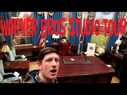 Warner Bros Studio Tour DELUXE VIP -Day 575-