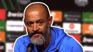 Nuno Espirito Santo - Rennes 2-2 Tottenham - Post-Match Press Conference - Europa Conference League