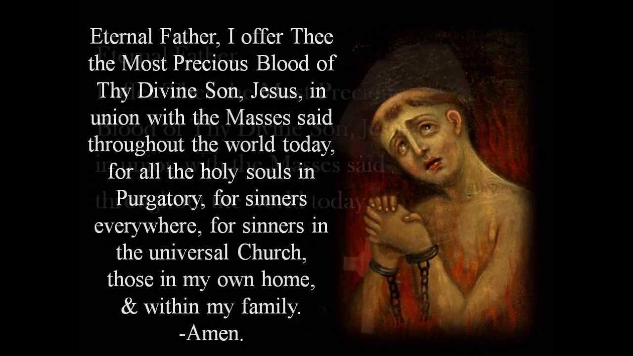 Prayer for all souls catholic