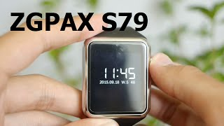 ZGPAX S79 Bluetooth Smartwatch Phone Unboxing & First Look
