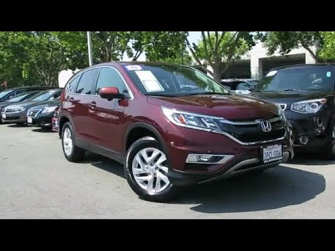 Honda Redwood City >> 2015 Honda Cr V Ex San Jose Sunnyvale Hayward Redwood City Cupertino