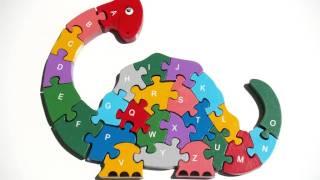 Песни для малышей - abc dino song - мультфильм про динозавра