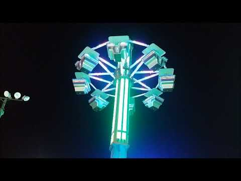 MIDDLE TENNESSEE DISTRICT FAIR 2017 - MIDWAY RIDES - Lawrencerburg, Tennessee, USA - Part 3
