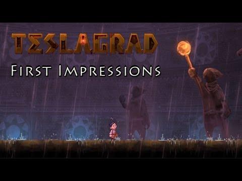 Teslagrad: Indie 2D Platformer - First Impressions