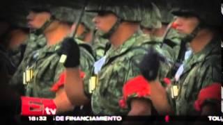 Cancelan desfile; ceremonia de ascensos será en Campo Marte / Nacional