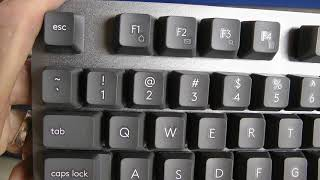Logitech K840 Mechanical Keyboard with Romer G Switches. Review and Impressions