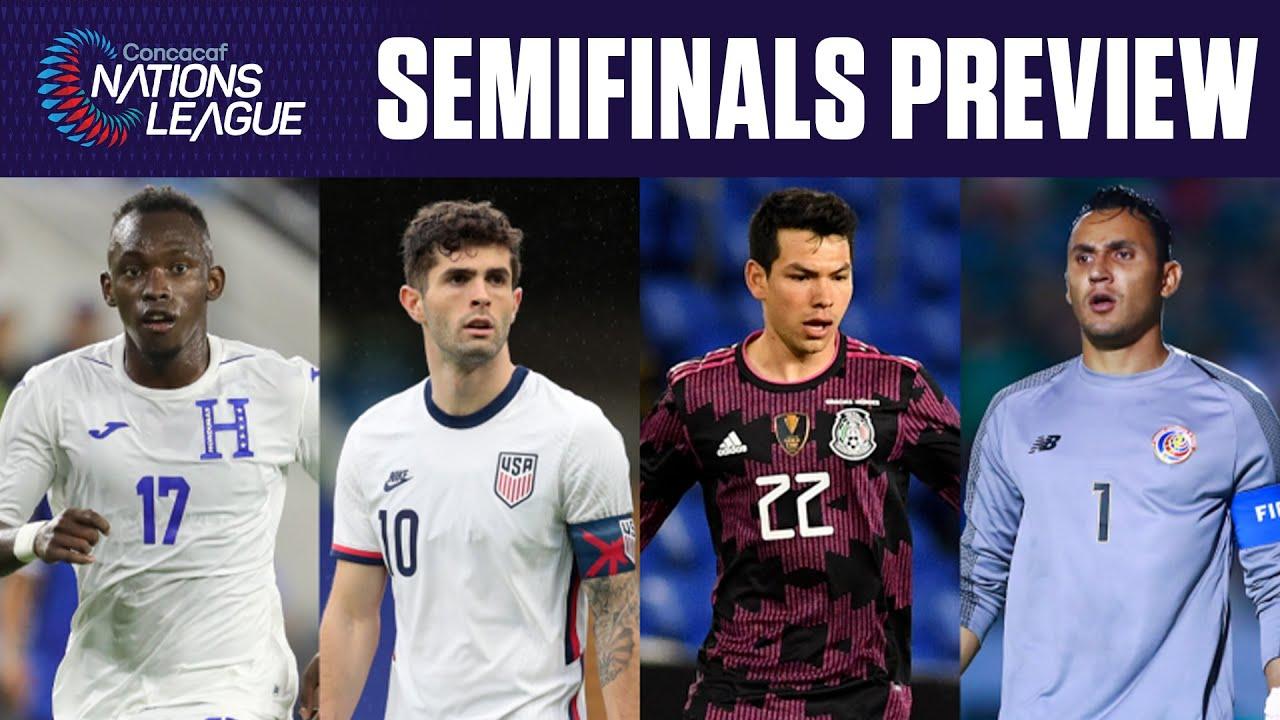 Concacaf Nations League Semifinal: USA vs. Honduras - Lineup ...