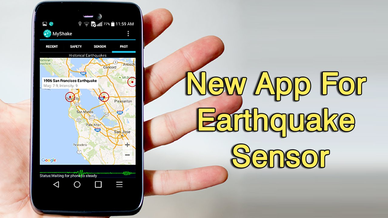 new android app turns your phone into an earthquake detector