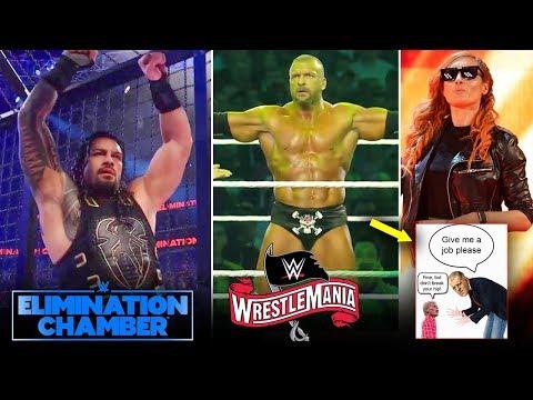 Chamber 2020 WINNERS, Triple H WM36 CANCELLED😞? 3 Chamber Matches, Roman Reigns, Shayna Baszler