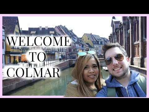 VLOG : WELCOME TO COLMAR!!!!!!!