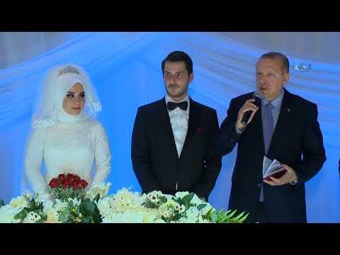 Cumhurbaşkanı Belediye Başkanı Usta'nın Kızının Düğününe Katıldı