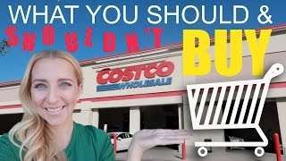 Costco Shopping Tips: 26 Things You SHOULD & SHOULDN'T Buy!