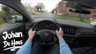 VW T-Roc 1.0 TSI 115 hp POV test drive
