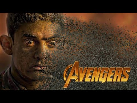 Avengers: Infinity War Last Scene | INDIAN MOVIES VERSION | Thanos Snaps His Fingers | HD