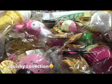 Squishy Collection Blog : My squishy collection?? - YouTube