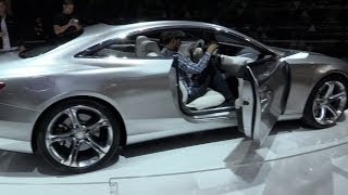 2015 Mercedes-Benz S Class Coupe Concept (English)